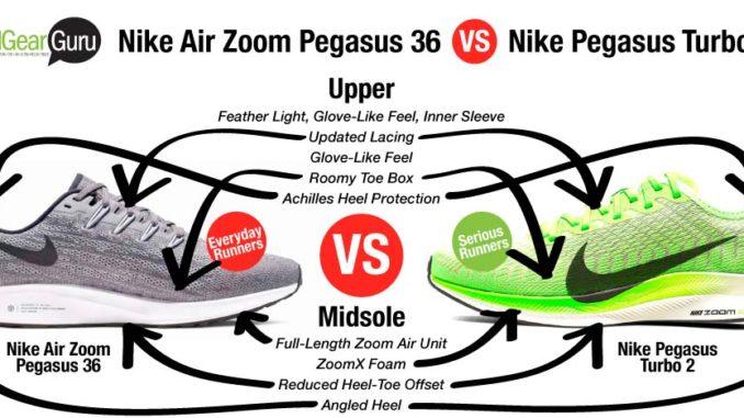 Nike Zoom Pegasus Turbo 2 Vs Nike Air